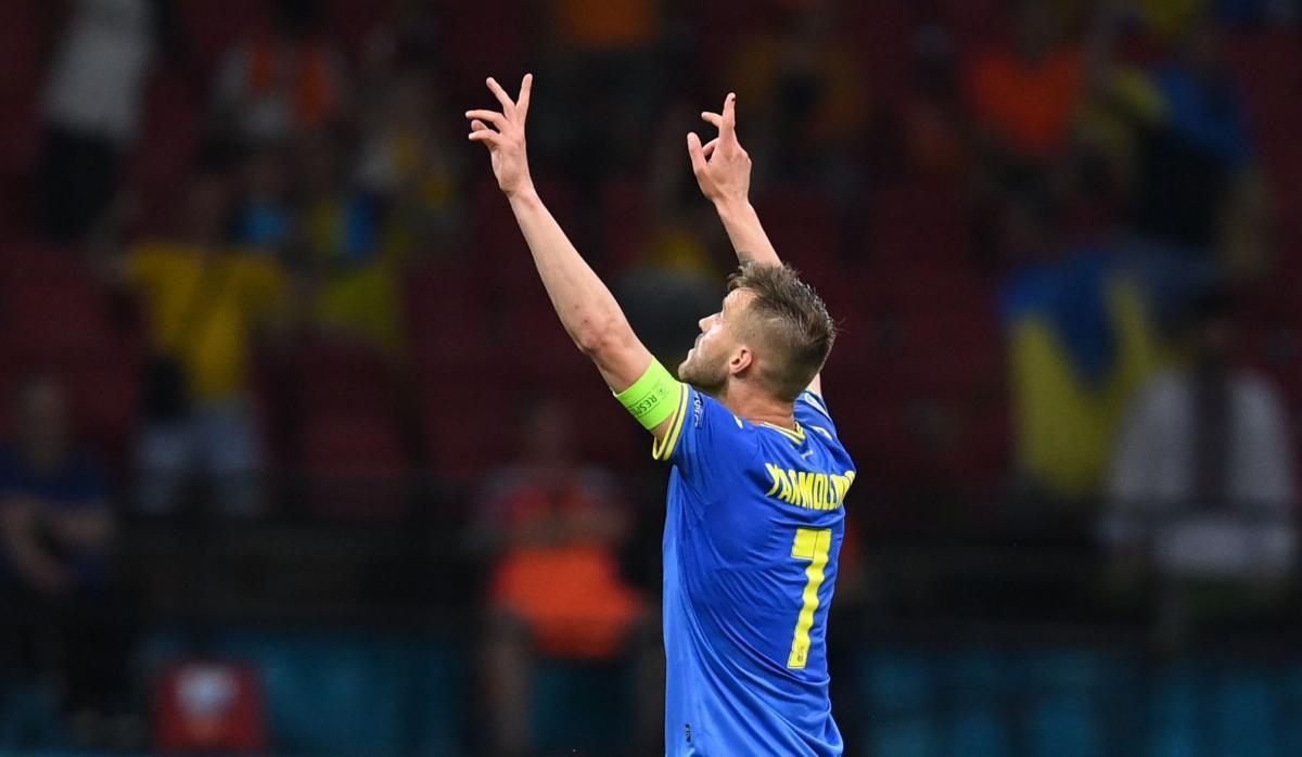 Андрей Ярмоленко забил один из лучших мячей турнира / фото REUTERS