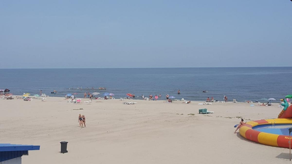 Минулого тижня якість морської води не відповідала гігієнічним нормам на пляжах Затоки \ фото Олександр Топчій