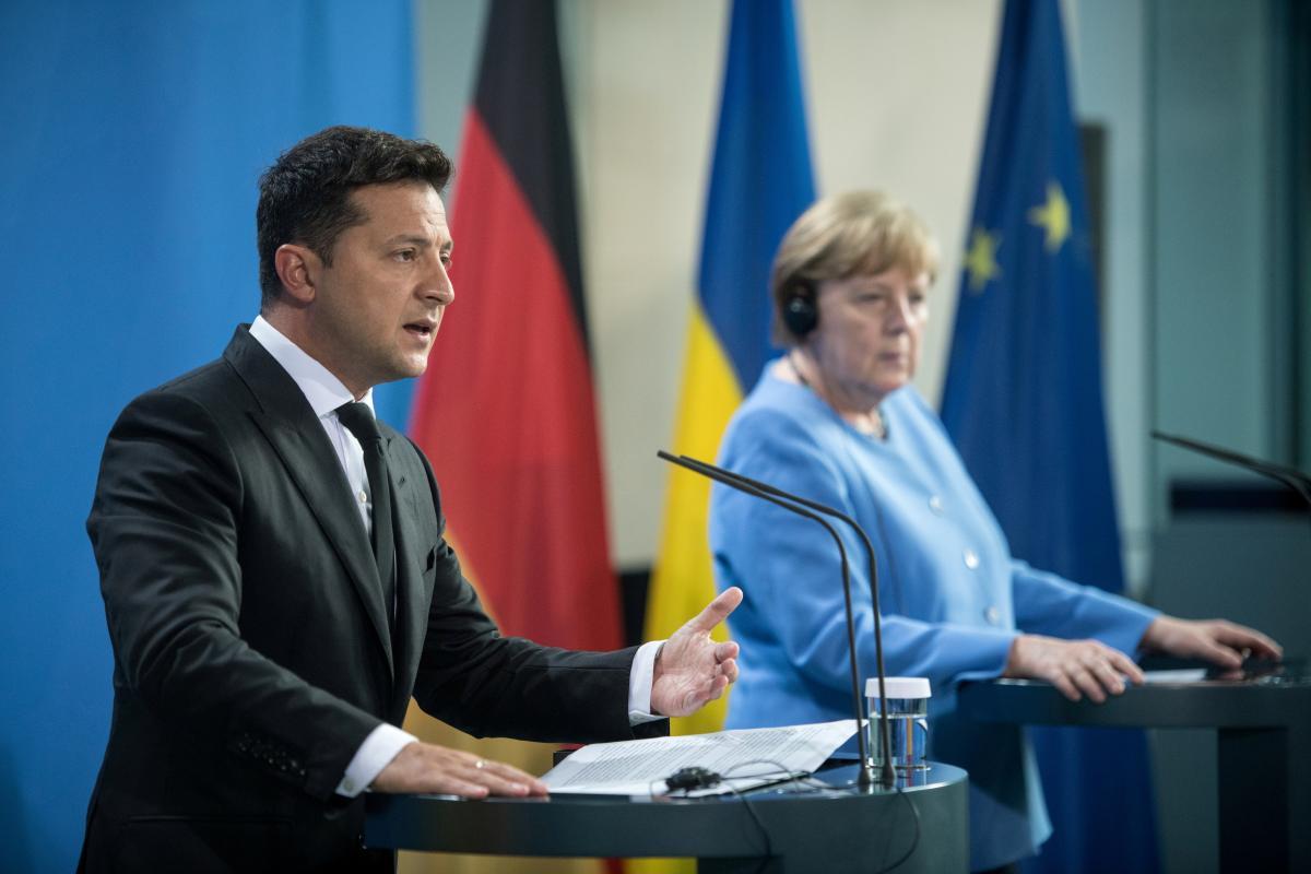 Merkel will meet with Zelensky in Kyiv / photo by REUTERS
