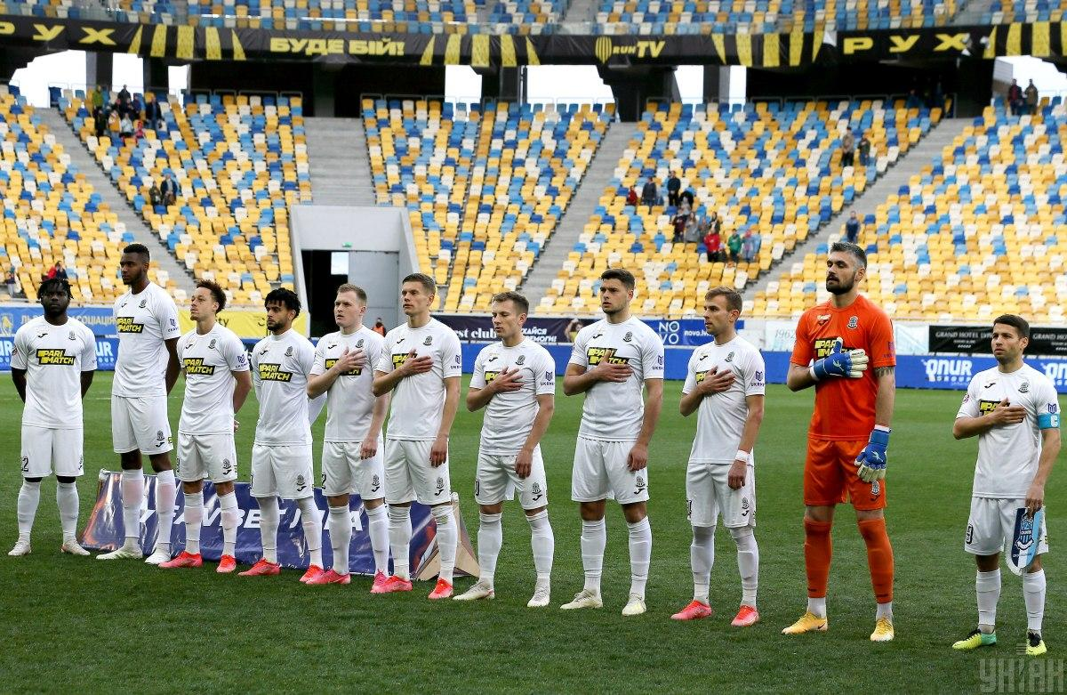 Олимпик перед матчем УПЛ 6 мая / фото УНИАН, Евгений Кравс