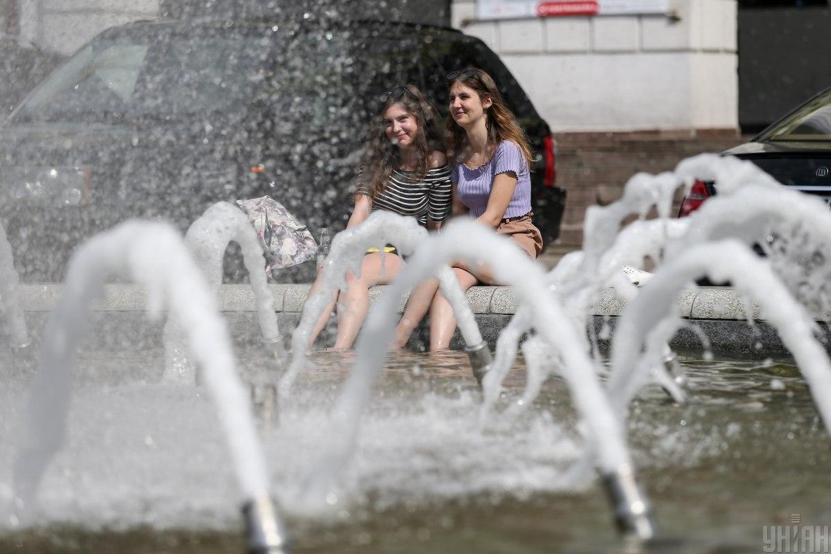 27 июля в Киеве будет жарко / фото УНИАН