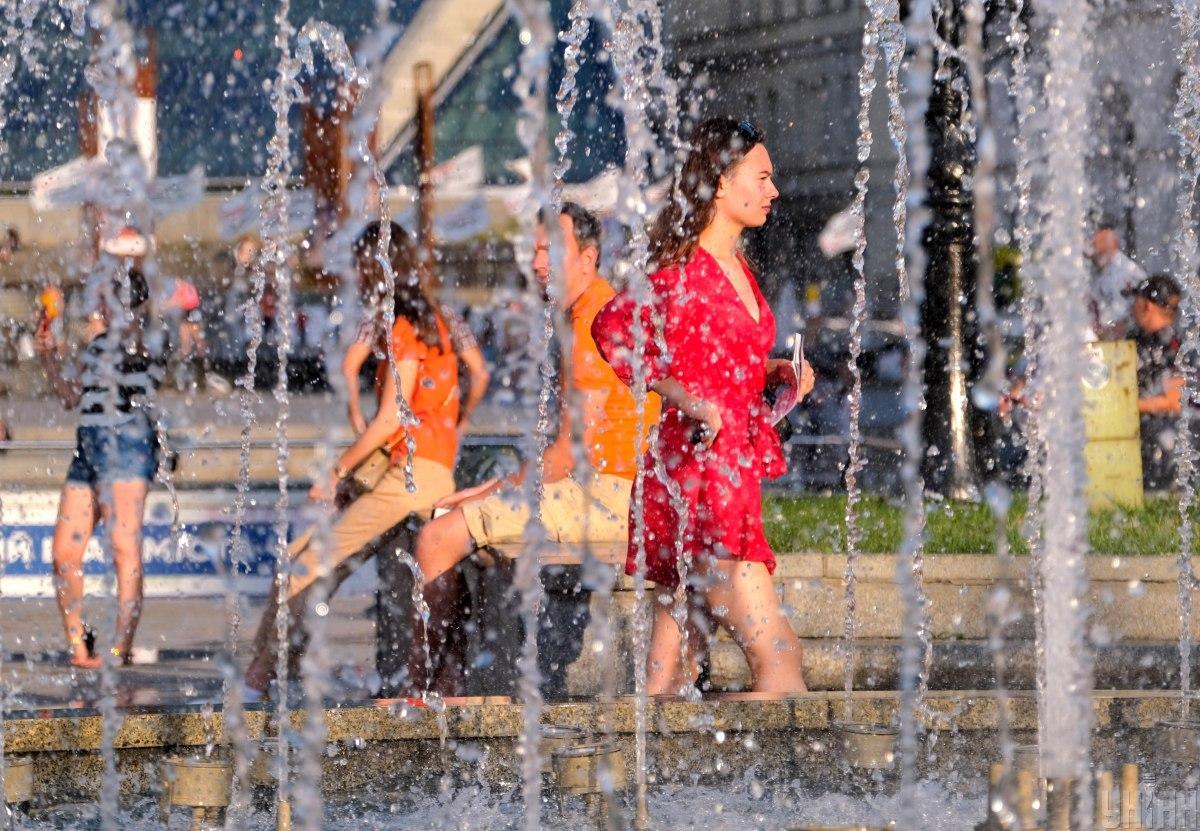 Пятница в Киеве будет жаркой / фото УНИАН