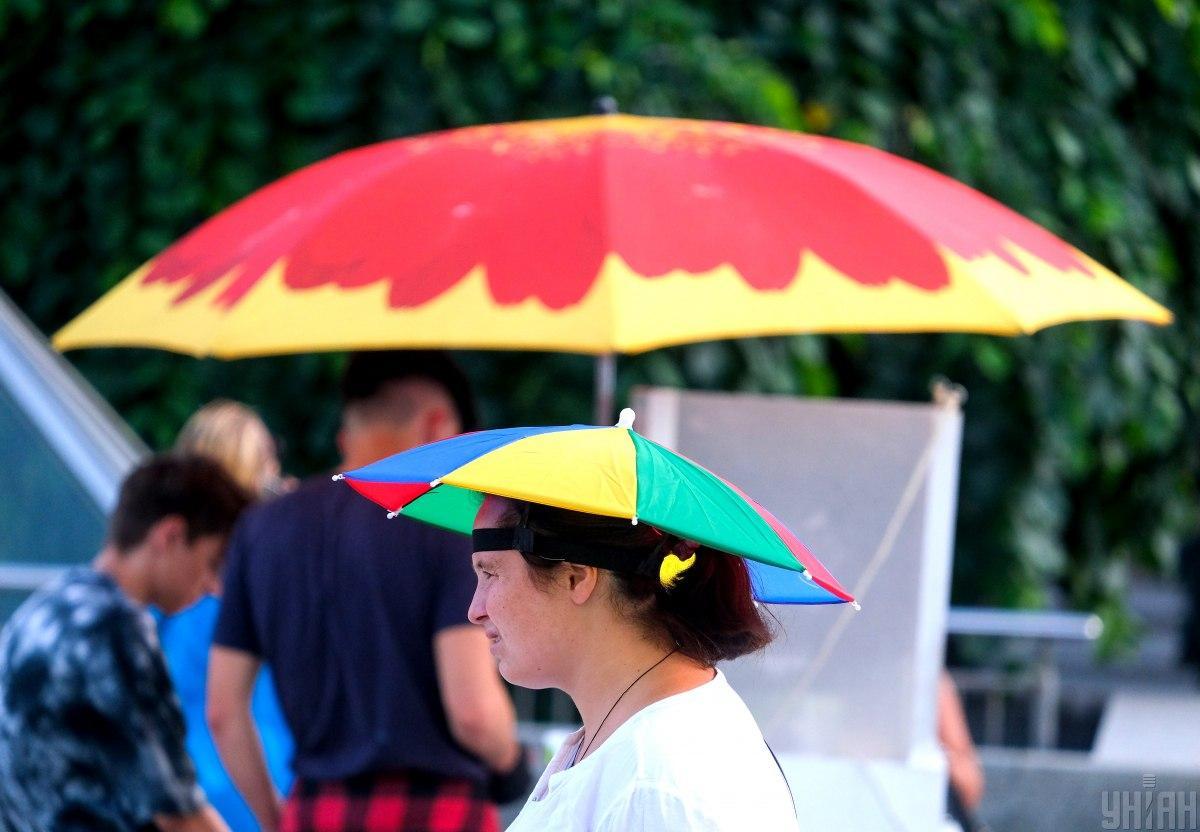 29 июля в Киеве будет очень жарко, пройдет гроза / фото УНИАН