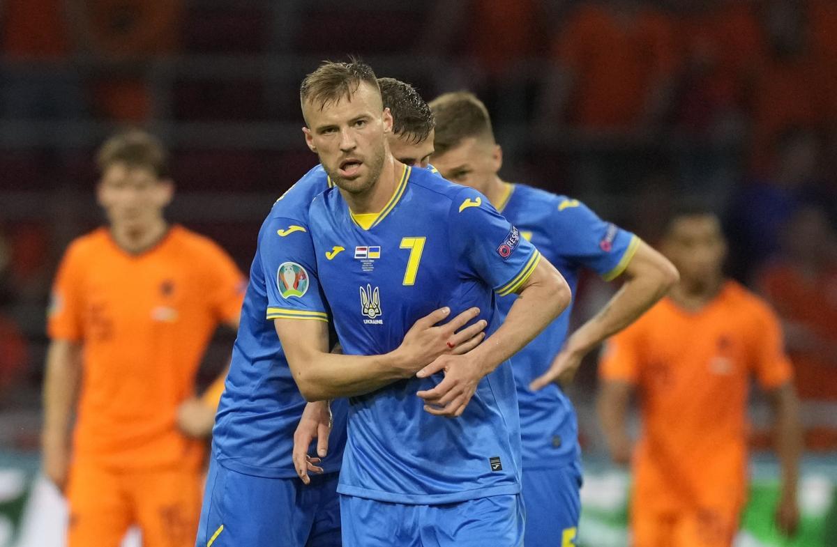 Андрей Ярмоленко все матчи Евро-2020 начинал с первых минут / фото REUTERS