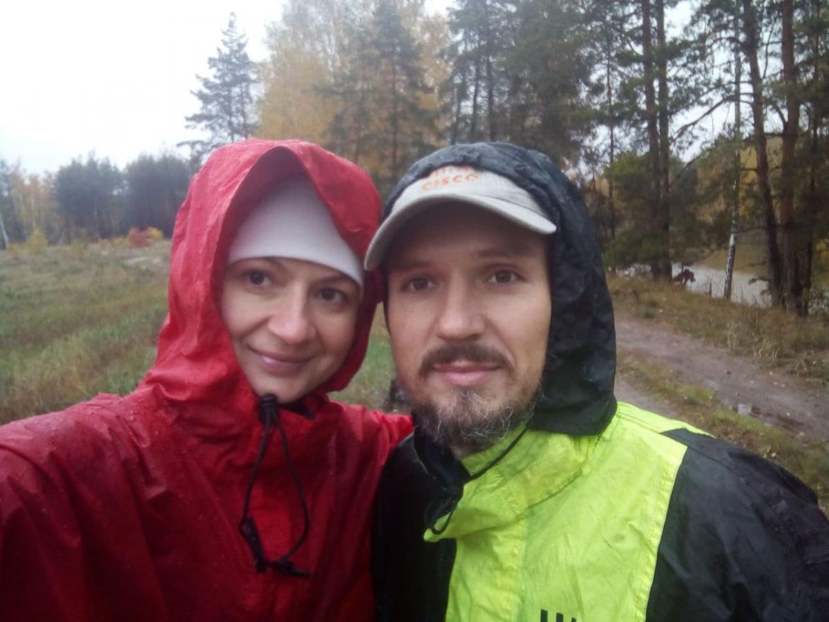 Алексей Елисеев с девушкой Ольгой Молнией / фото MotoHelp