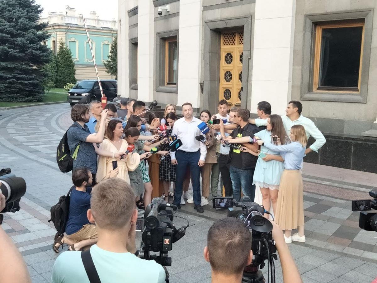 Денис Монастырский рассказал, почему решил возглавить МВД / фото УНИАН, Татьяна Поляковская