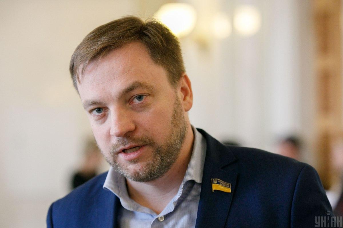 Міністр внутрішніх справ Денис Монастирський / Фото УНІАН