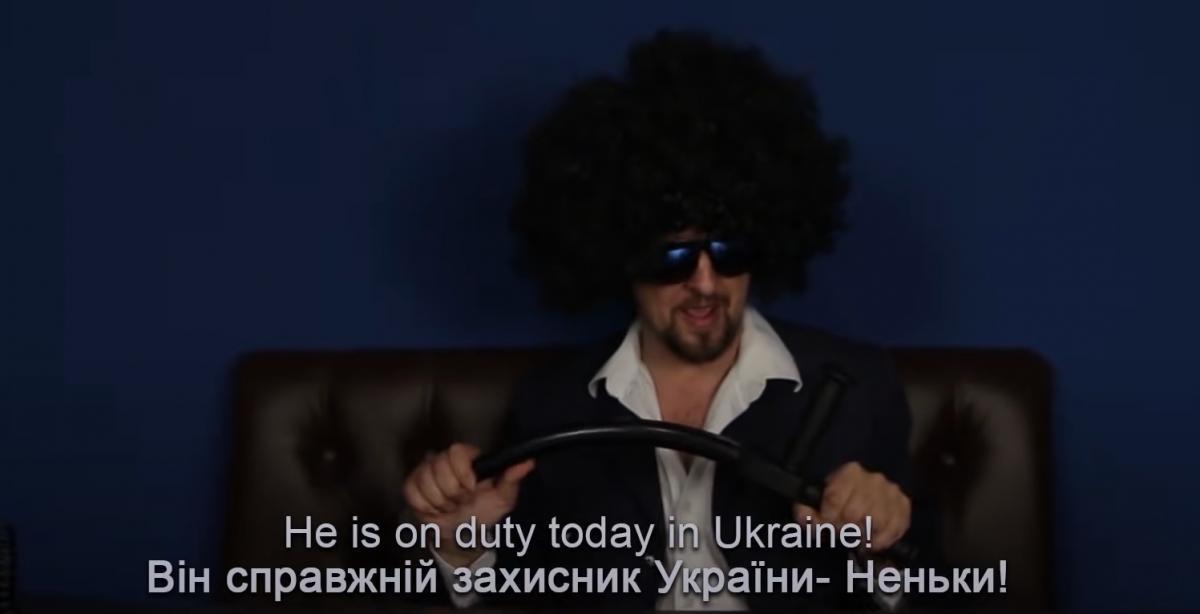 """Ранее Процишин сделал кавер об Авакове, в день отставки министра эта песня """"разошлась"""" в сети / скриншот с видео"""