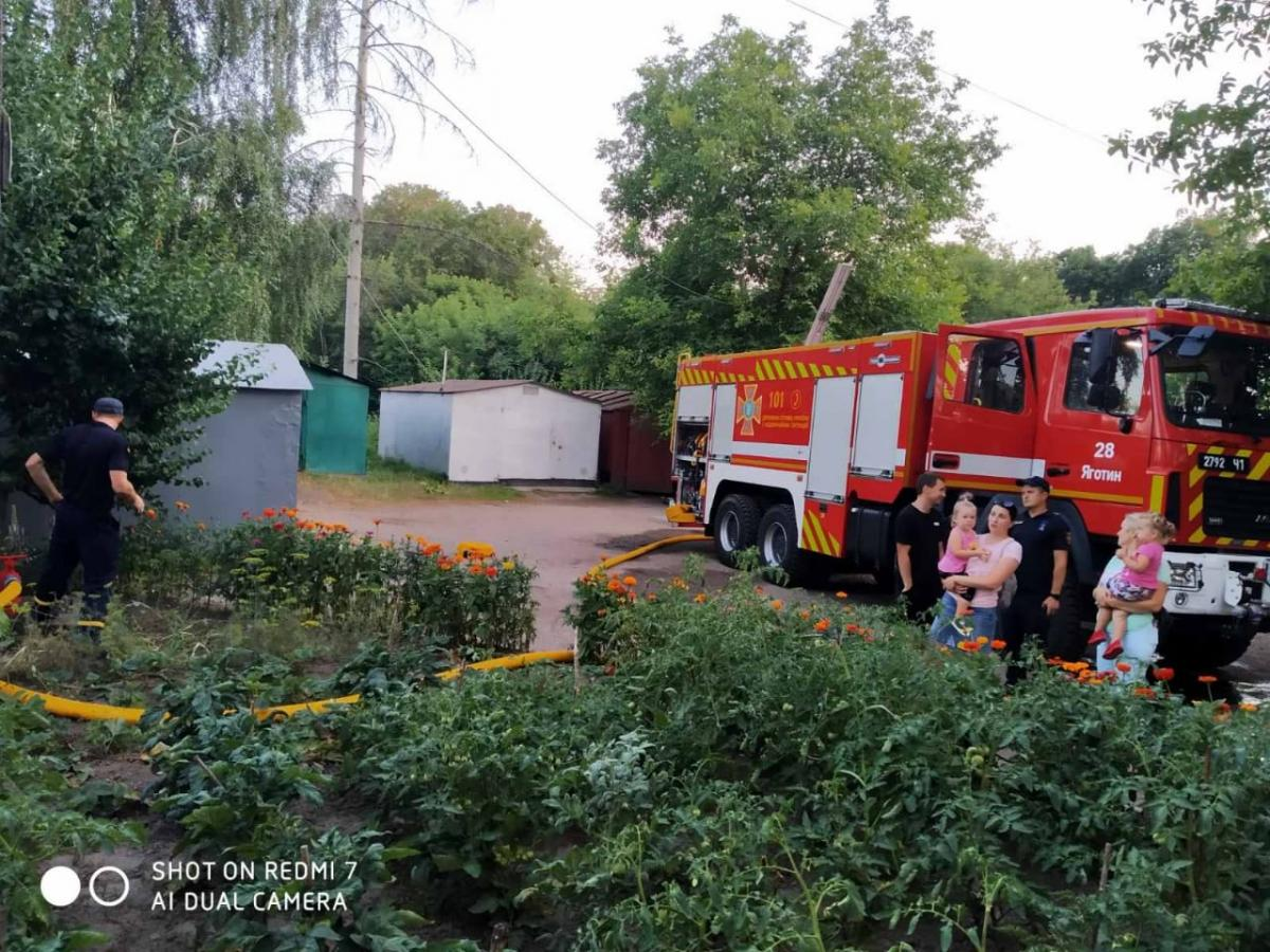 Под Киевом горел дом, есть жертвы / ГСЧС