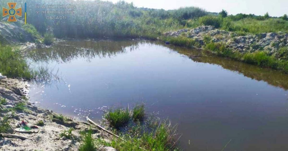 На Черниговщине утонули братья / фото ГСЧС