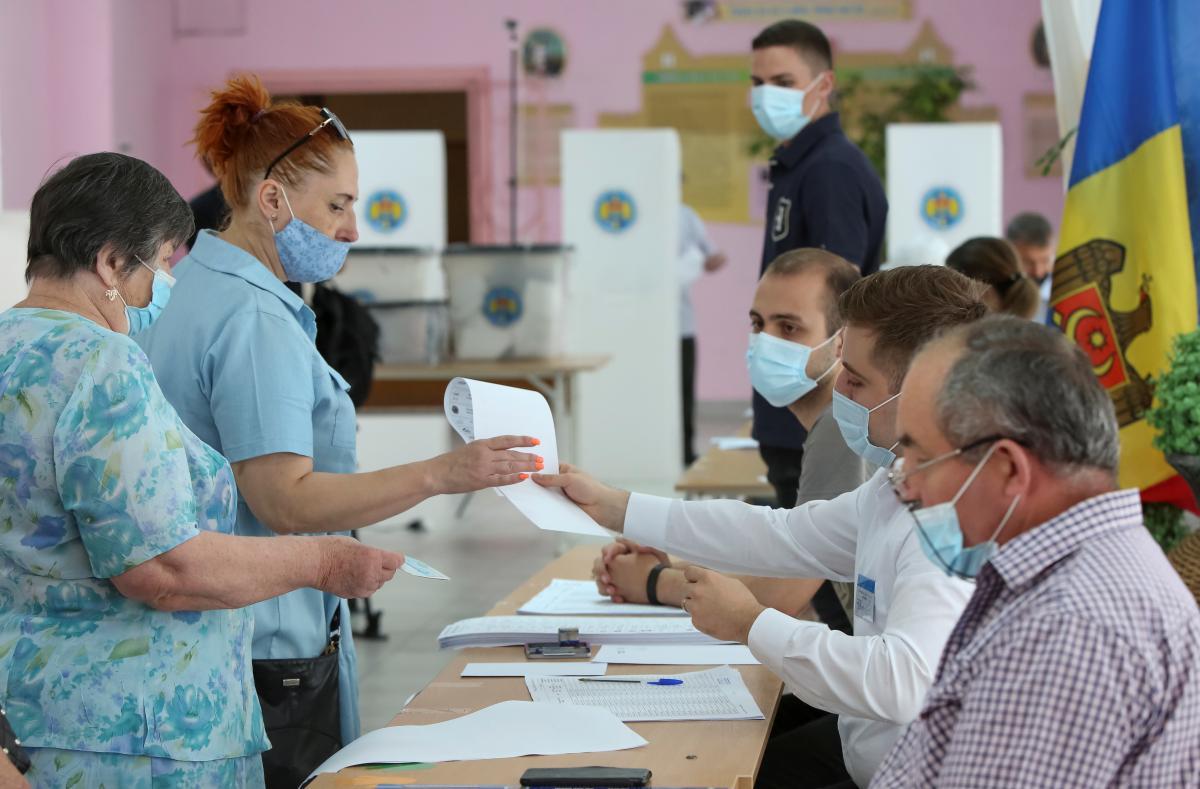 В Молдове прошли внеочередные парламентские выборы / фото REUTERS