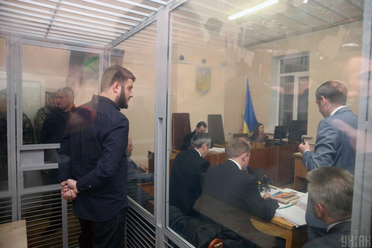 Александр Аваков в суде / Фото УНИАН