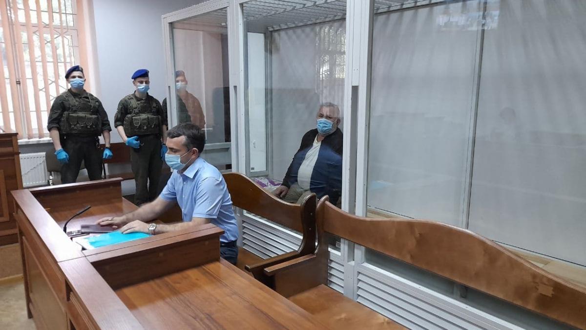 Обвиняемый Юрий Россошанский / фото УНИАН, Дмитрий Хилюк