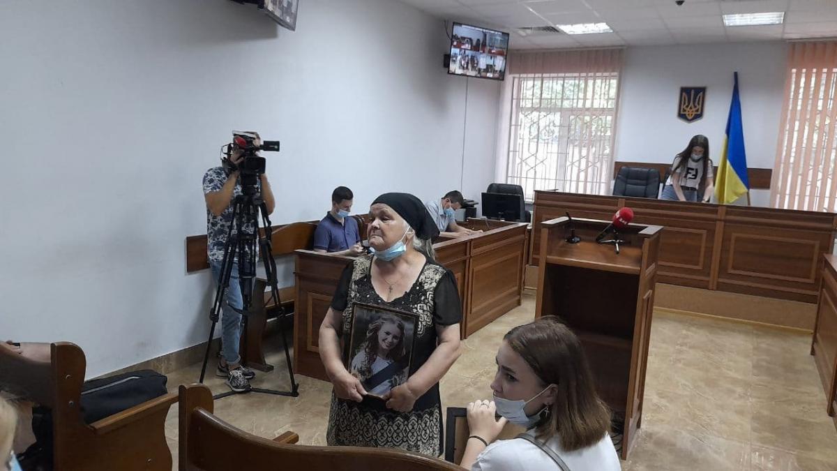 Мать Ирины Ноздровской Екатерина Дуняк / фото УНИАН, Дмитрий Хилюк