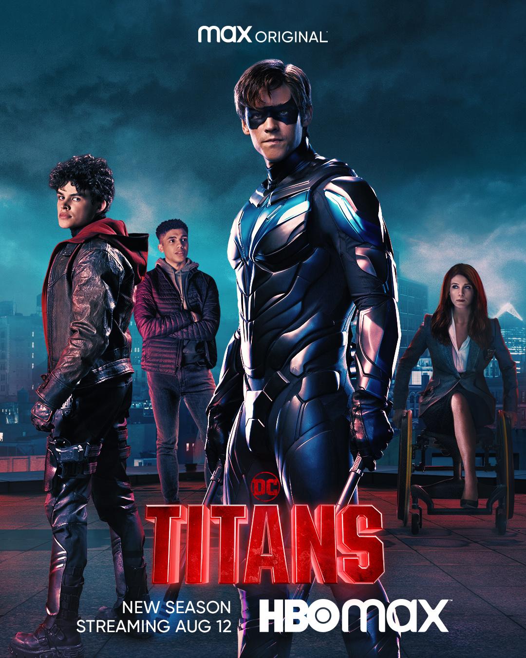 """Постеры к новому сезону сериала """"Титаны"""" / фото twitter.com/DCTitans"""
