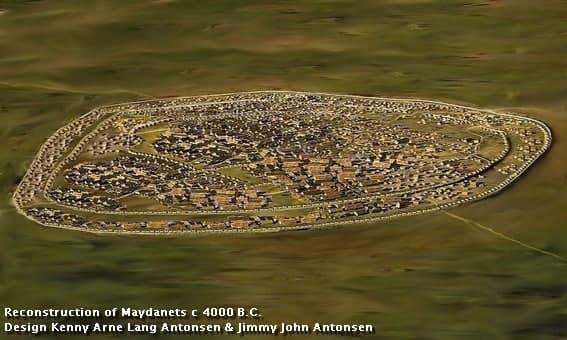 Так Майданецкое поселение представляют себе археологи