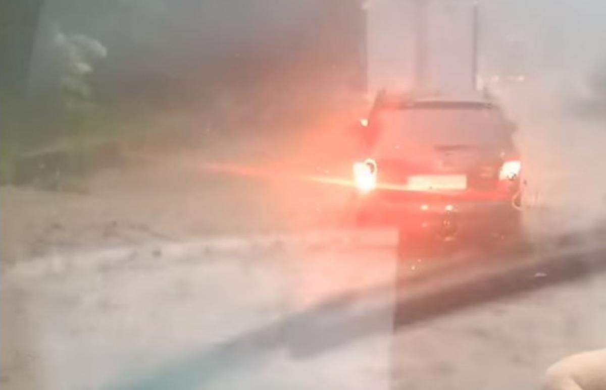 На місці працюють рятувальники / скріншот з відео