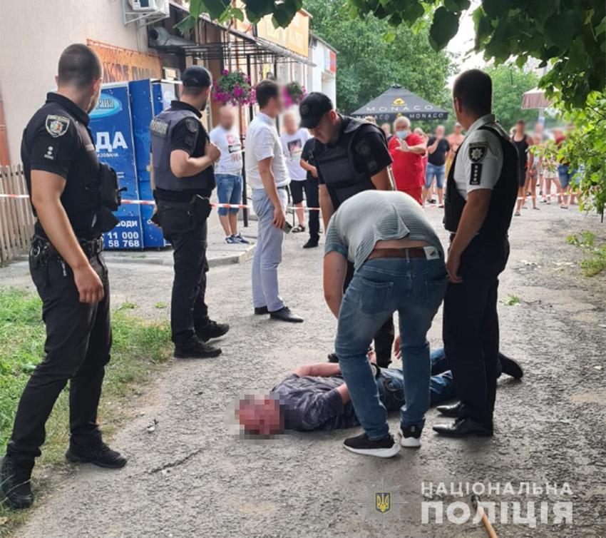 Полицейские задержали подрывника / фото НПУ