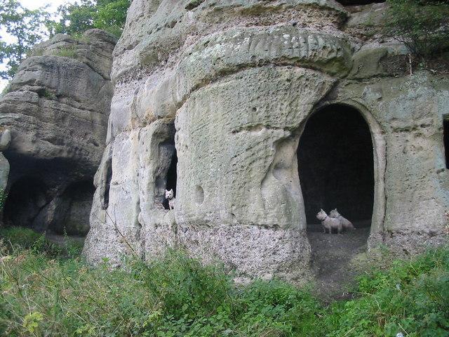 Эти пещеры могут быть одним из старейших жилищ \ фото Википедия