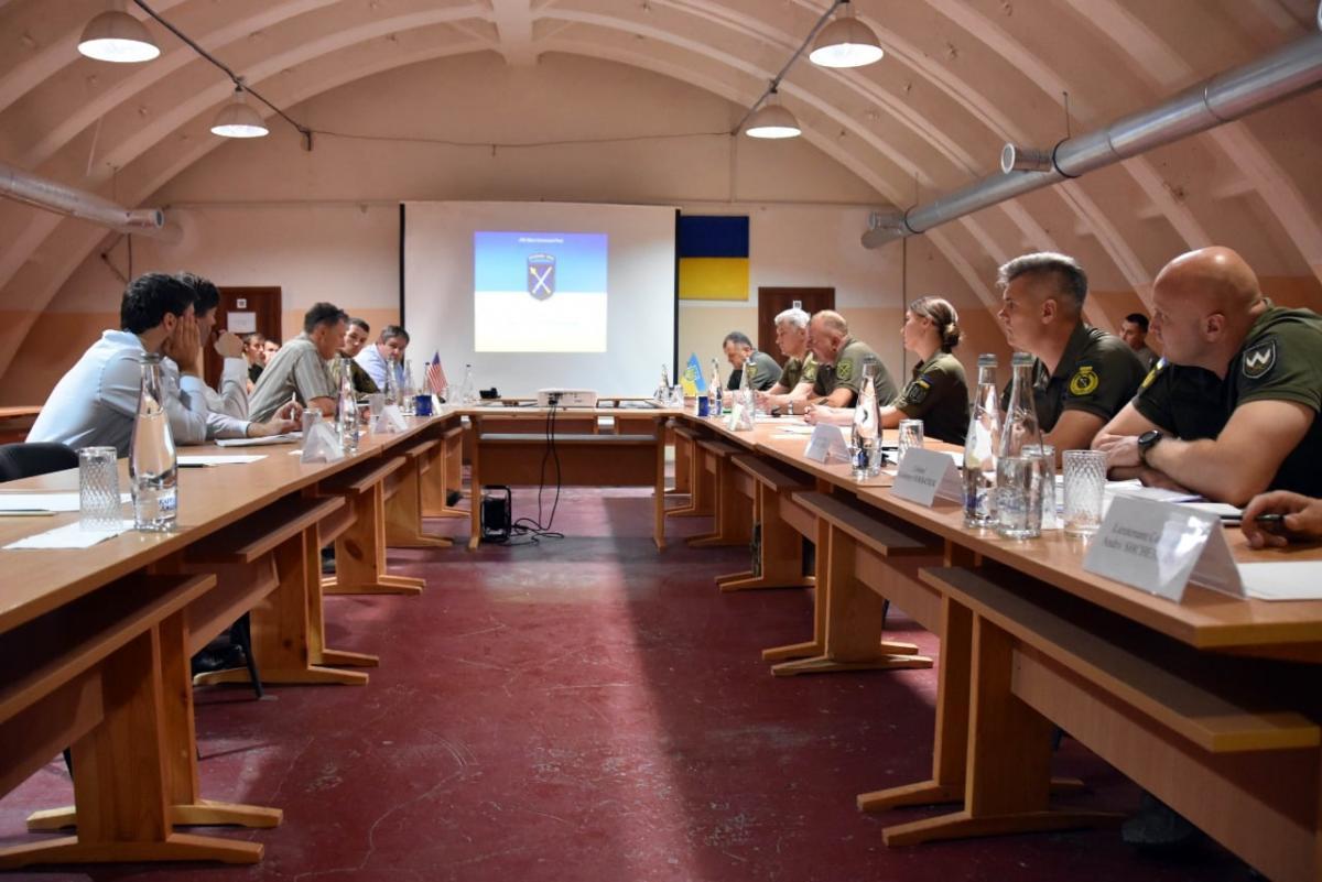 Американская делегация на Донбассе / фото ООС