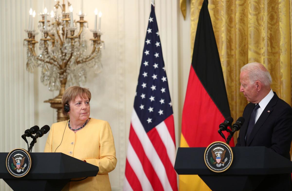 """Германия и США официально договорились о """"Северном потоке-2"""" / фото REUTERS"""