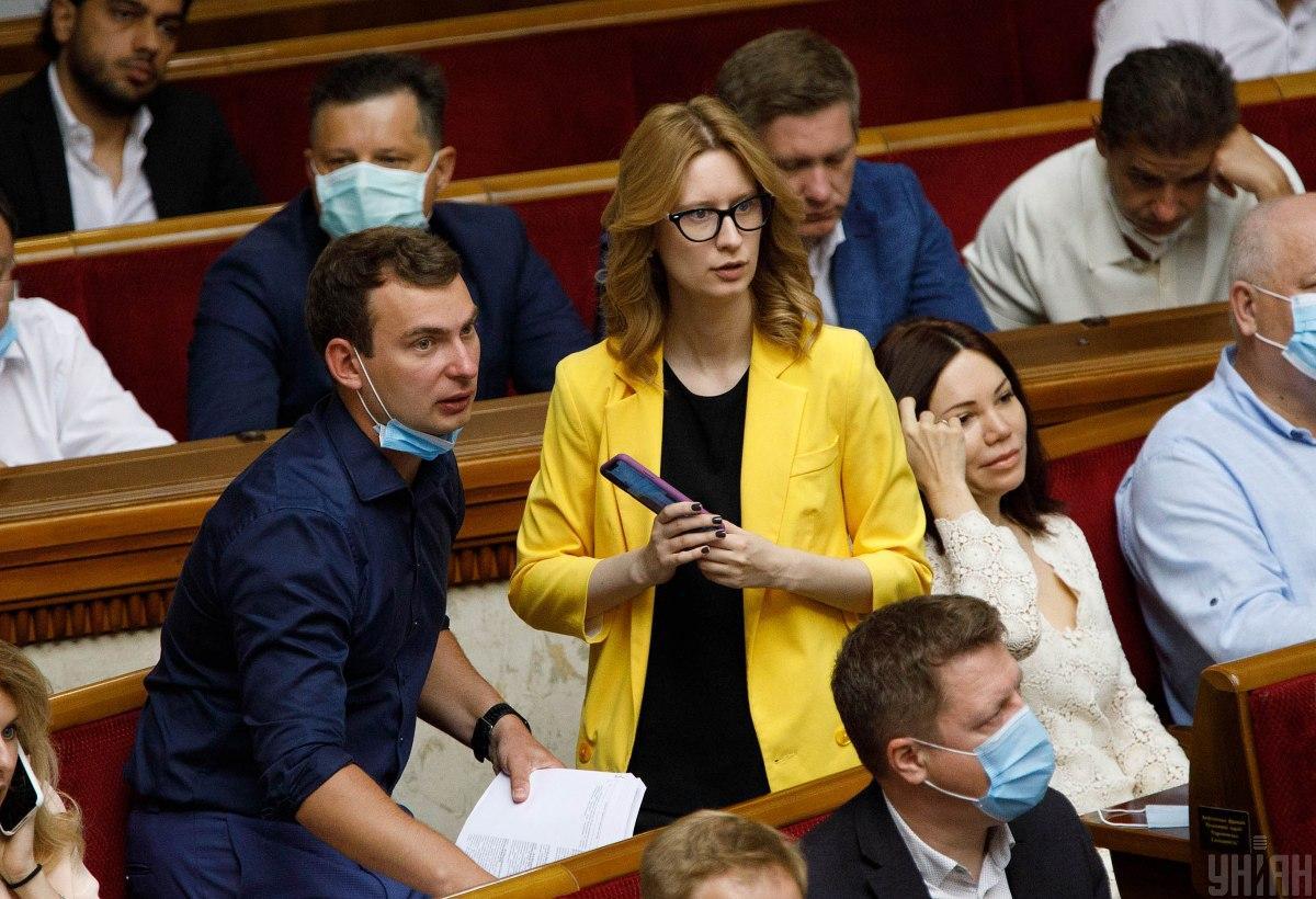 Железняк опровергает, что его отстранили от руководства партии / Фото УНИАН, Александр Кузьмин