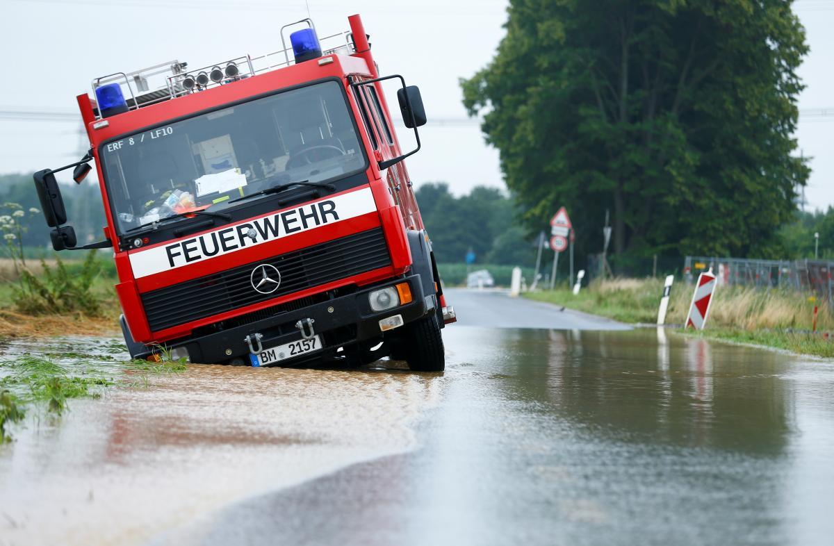 Погода нанесла жителям Германии жуткий ущерб/ фото REUTERS