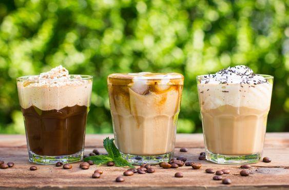 Рецепты охлаждающего кофе летом/ pinterest.ru