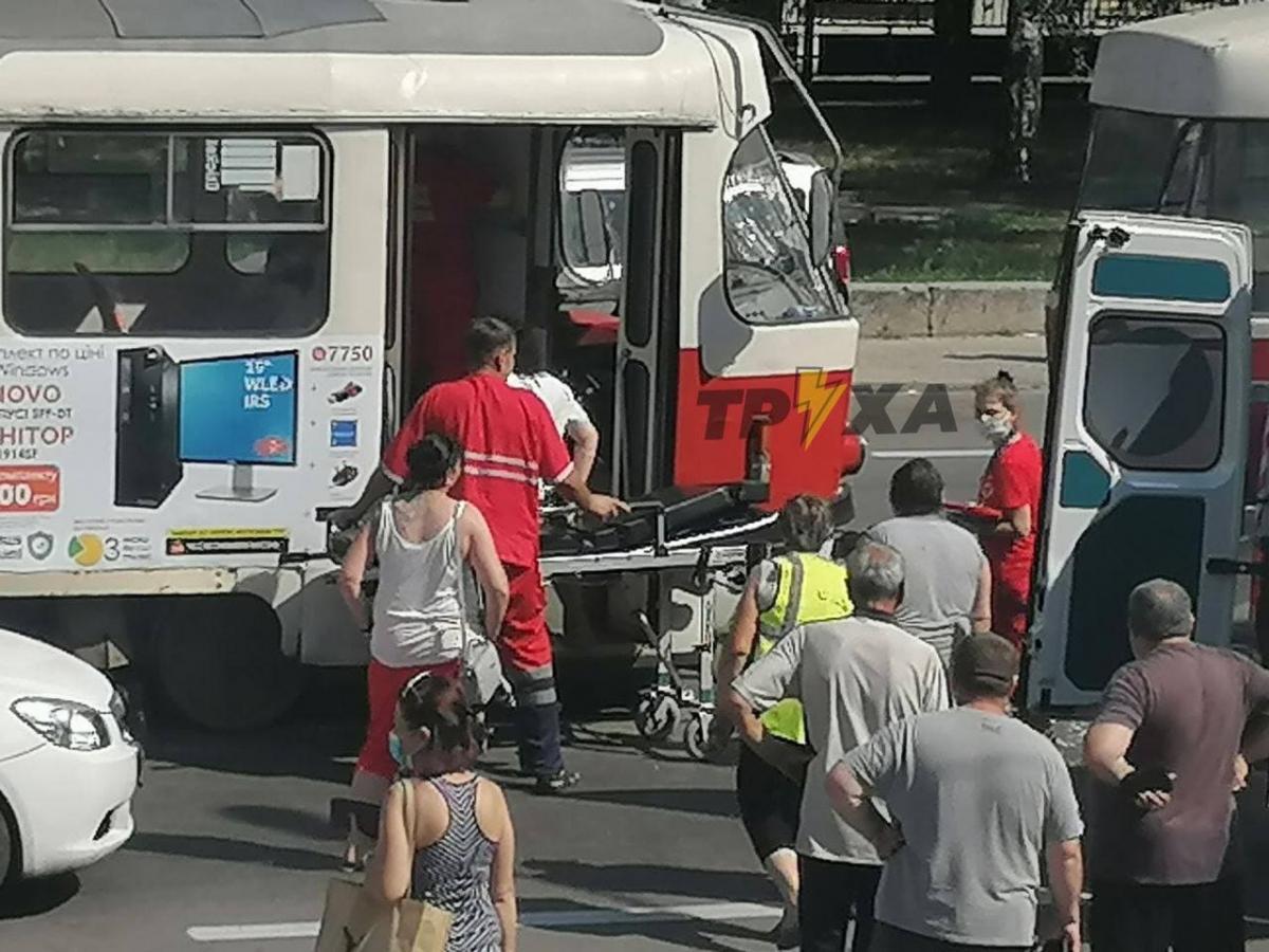Обставини аварії трамваїв у Харкові встановлює слідчо-оперативна група / фото t.me/truexanews