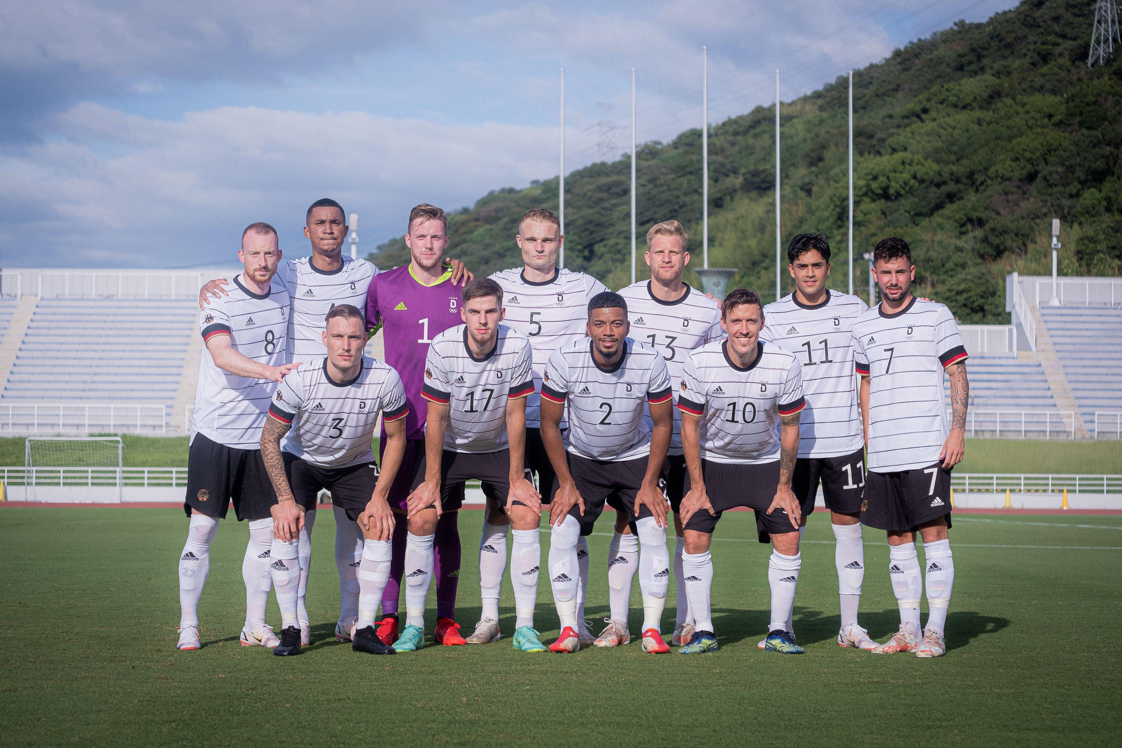 Олимпийская сборная Германии / фото twitter.DFB_Team_EN
