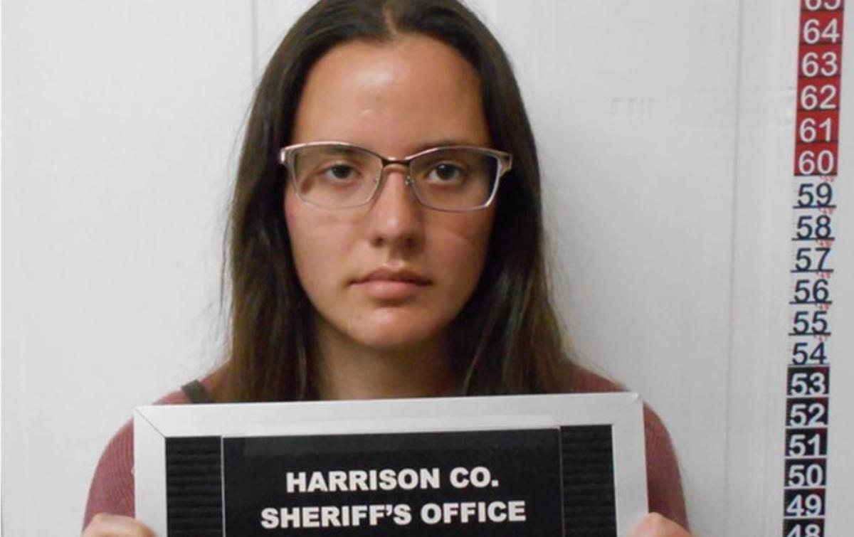 Маккалистер признала себя виновной/ фото Harrison County Sheriff's Office