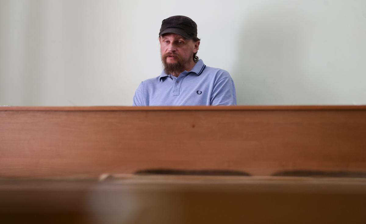 """Луцький терорист Максим """"Плохой"""" Кривош / УНІАН"""