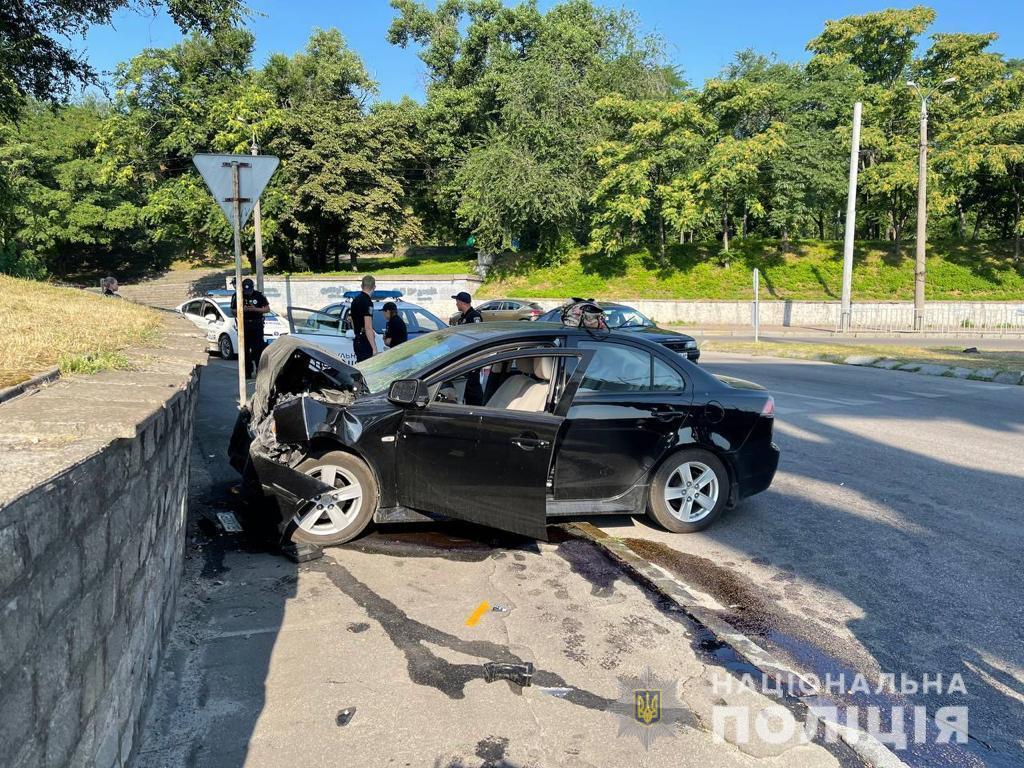 В центре Днепра случилось смертельное ДТП/ фото Нацполиция