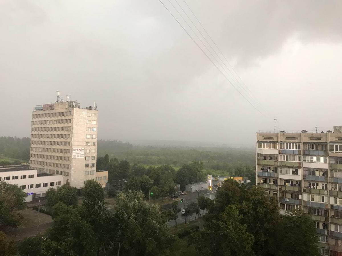 В Киеве гроза / фото УНИАН