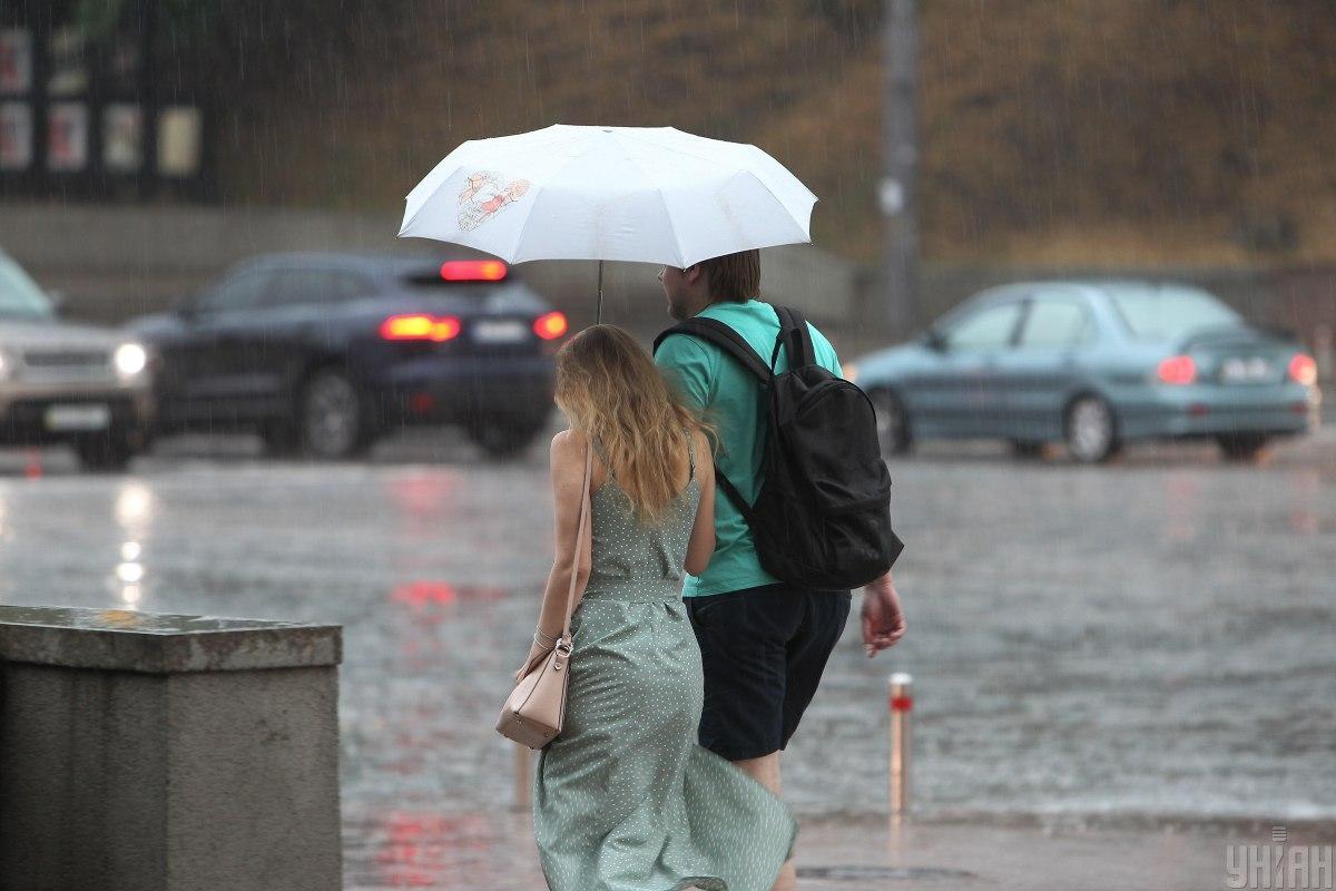 На Київщину насуває нова злива / фото УНІАН, Віктор Ковальчук