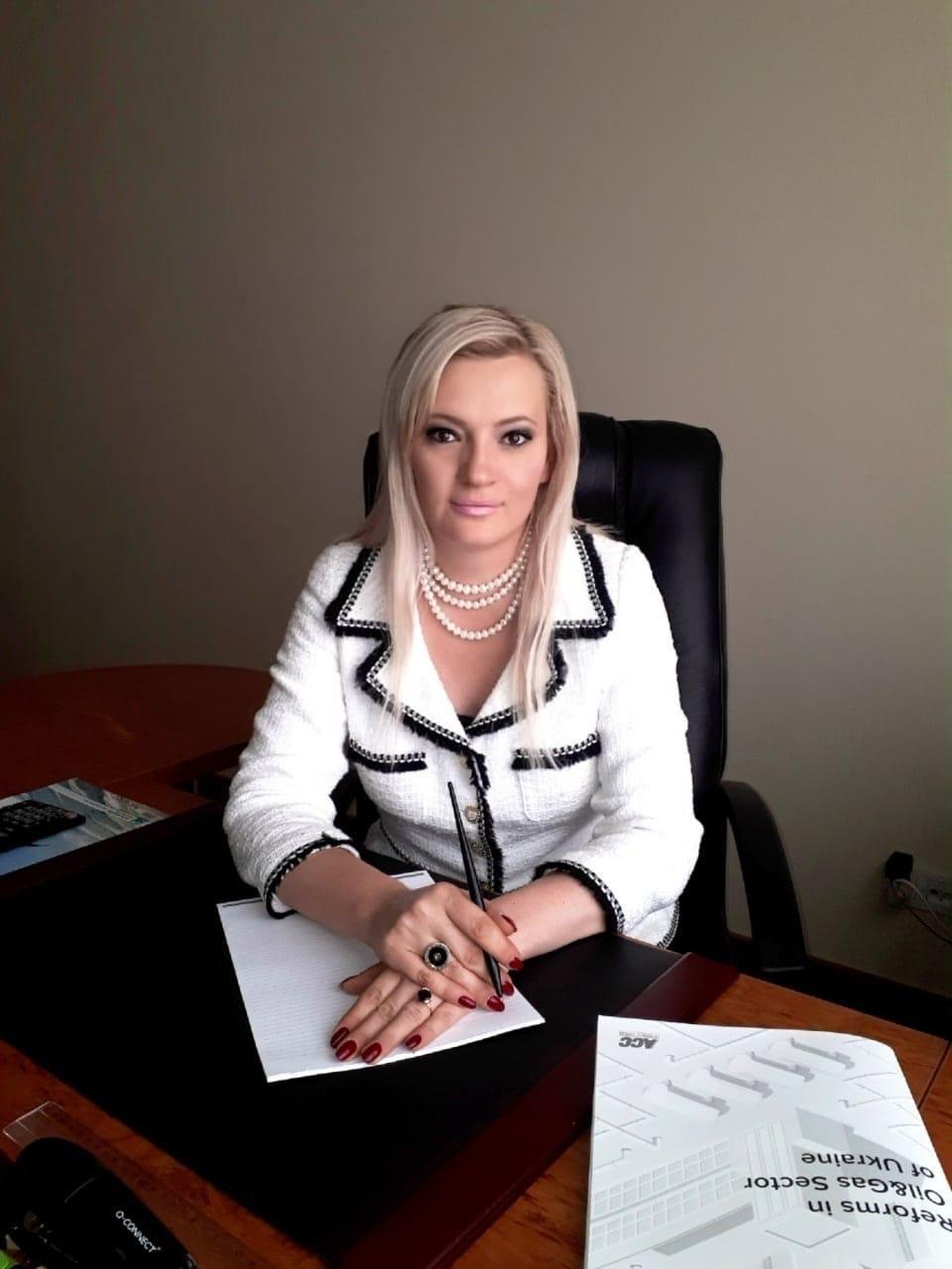 Президент Нефтегазовой Ассоциации Украины Неля Привалова