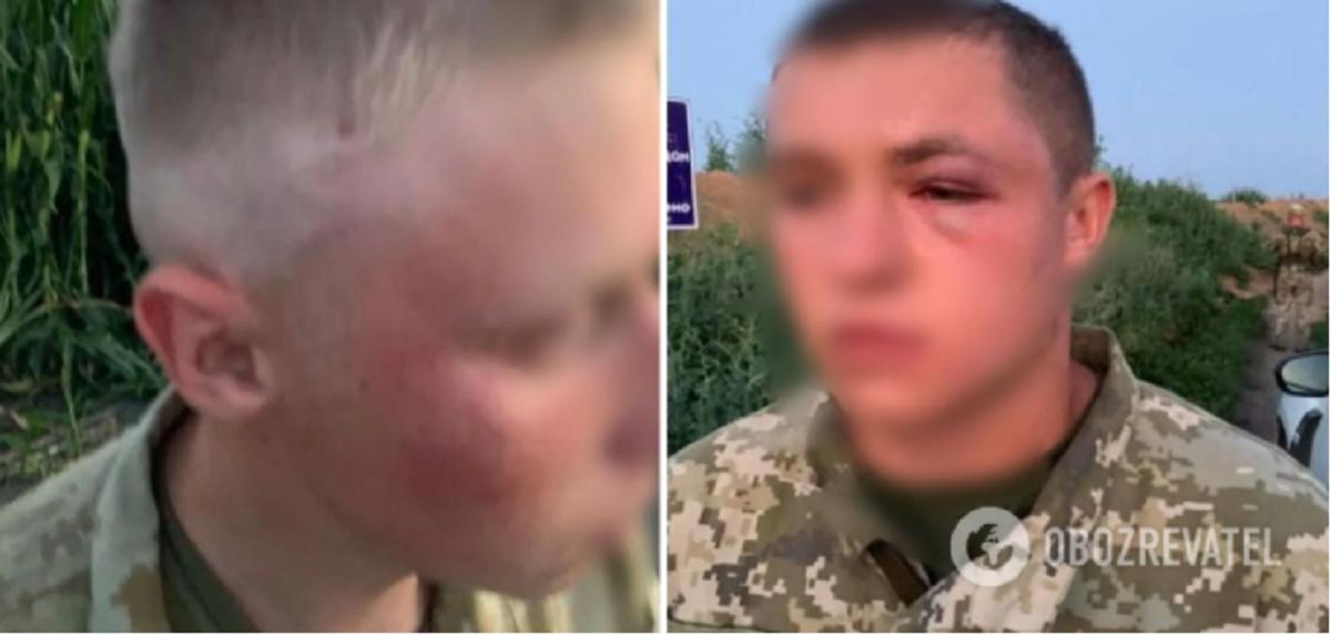 Сотрудники СБУ избили украинских пограничников / фото Обозреватель
