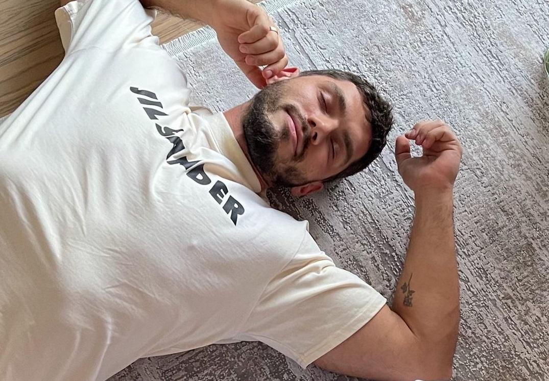 Никита Добрынин недавно стал отцом / фото Instagram Никита Добрынин