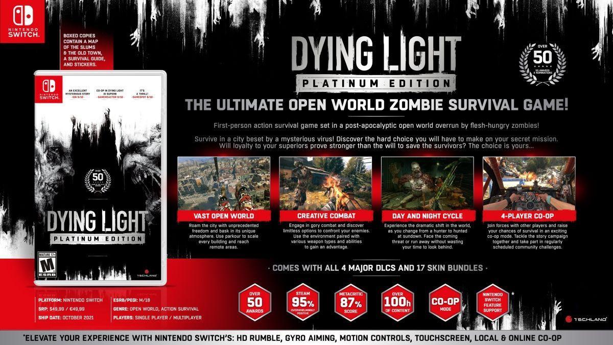 Склад платинового видання Dying Light / фото ppe.pl