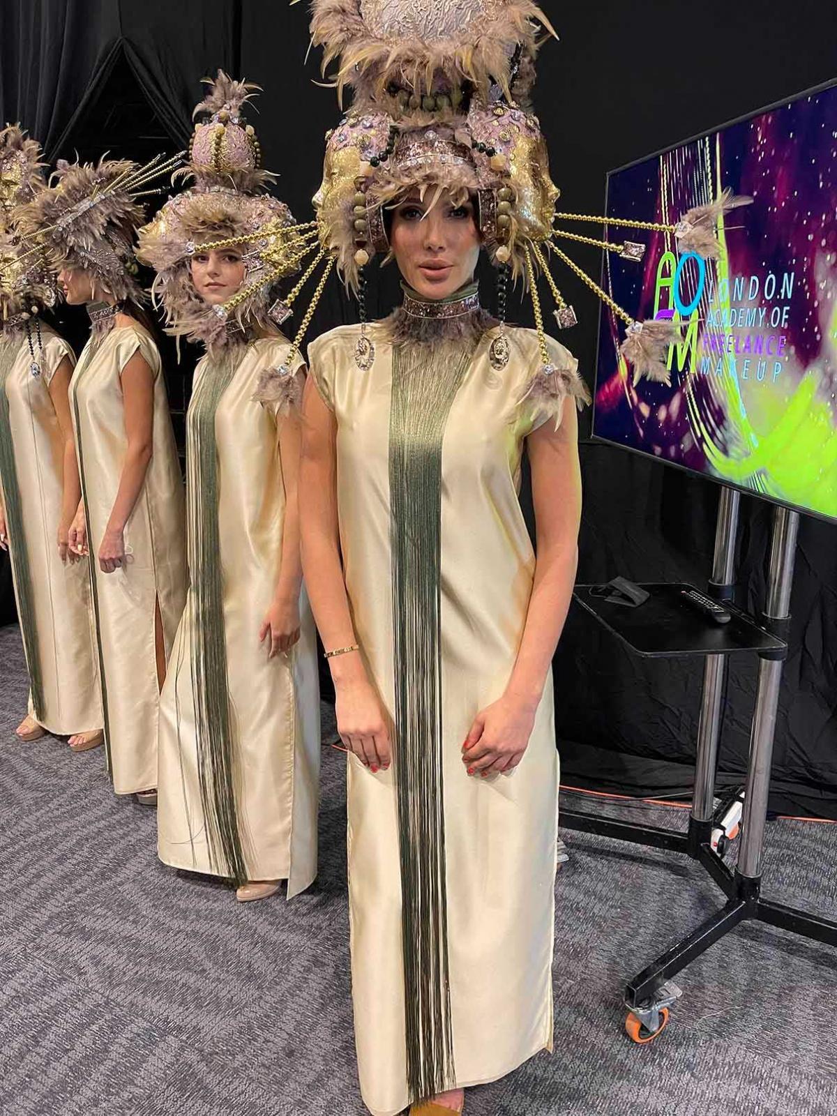 Гомонова відвідала Тиждень моди в Дубай / фото Master Management 360
