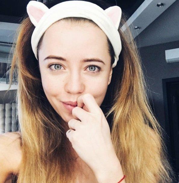 Надя Дорофєєва без макіяжу / фото instagram.com/nadyadorofeeva