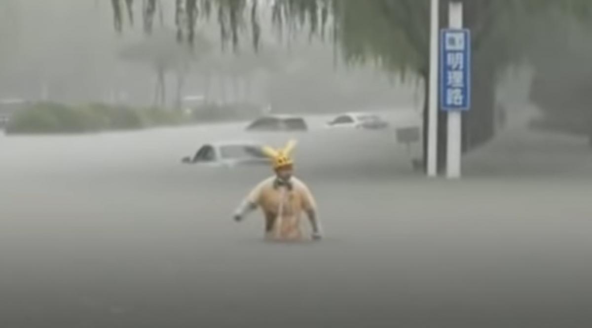 Метеорологи повідомляють, що зливи продовжаться / Скриншот