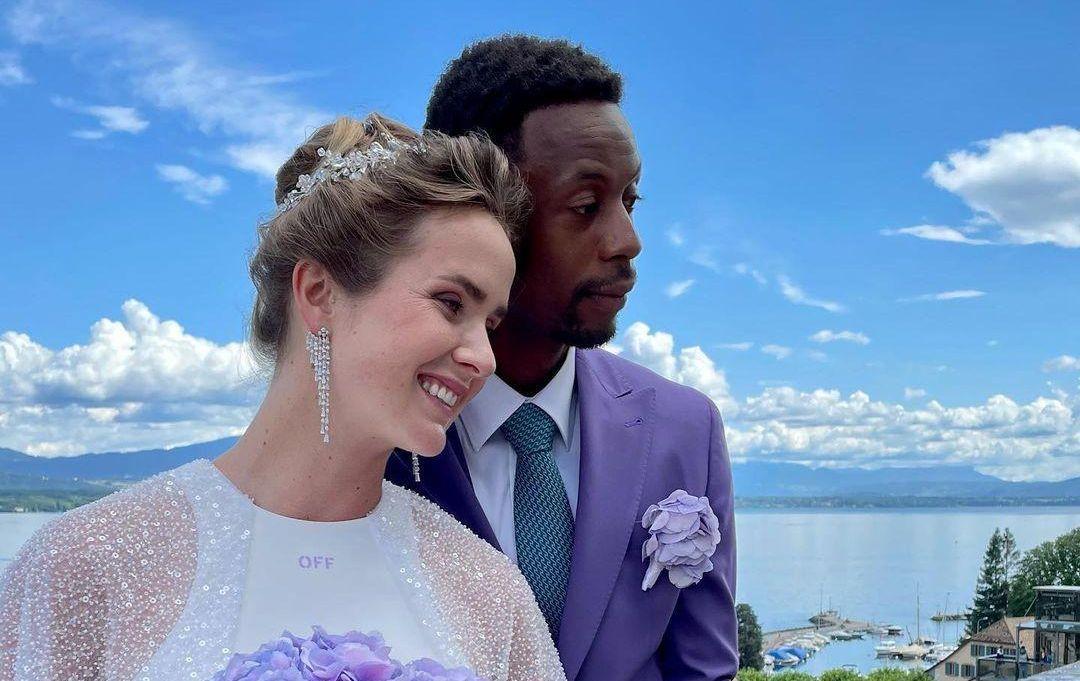 Элина Свитолина и Гаэль Монфись поженились 16 июля / фото instagram.com/svitolin_