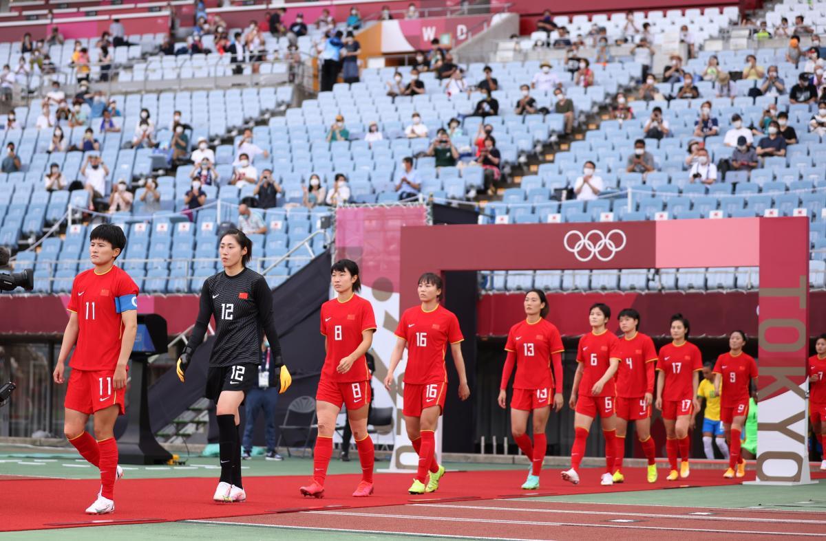 Жіноча збірна Китаю з футболу / фото REUTERS
