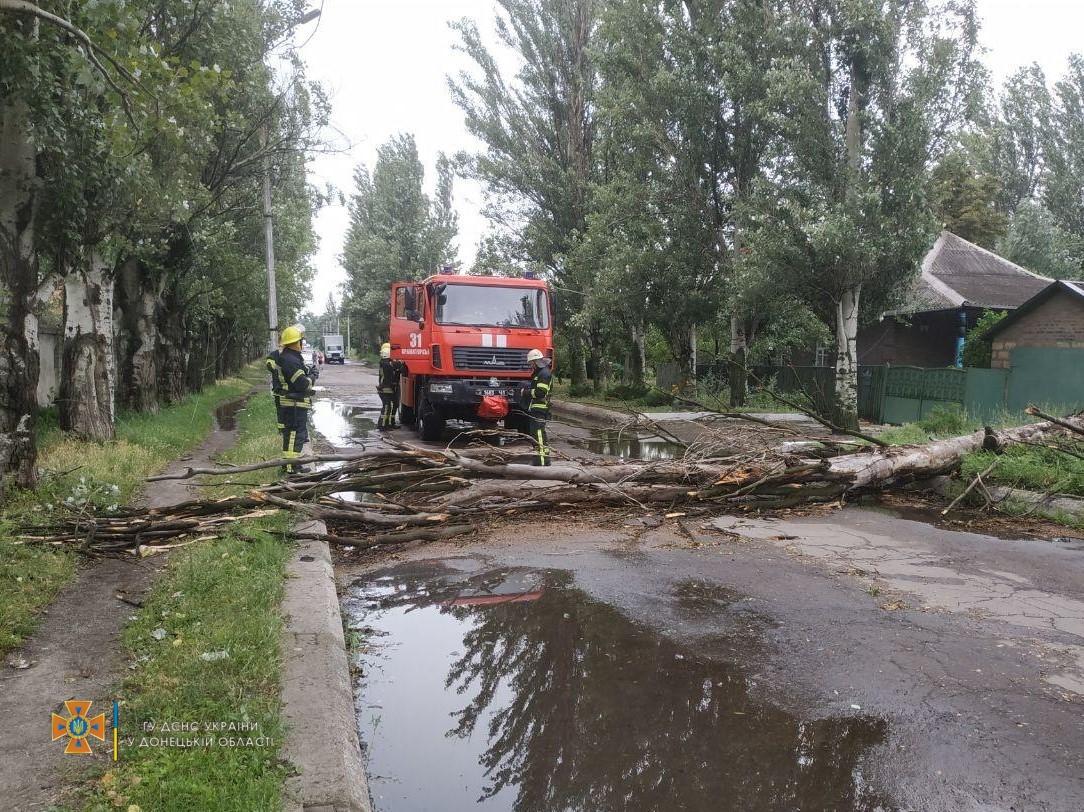 У багатьох областях України вирувала негода / фото ДСНС