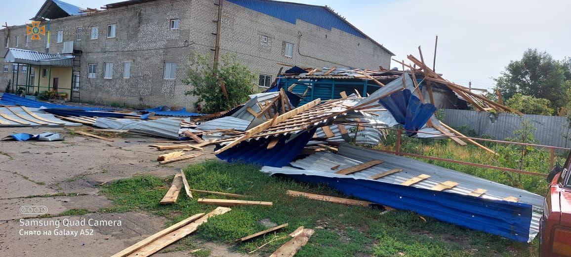 Через негоду на Луганщині загинув чоловік / фото ДСНС