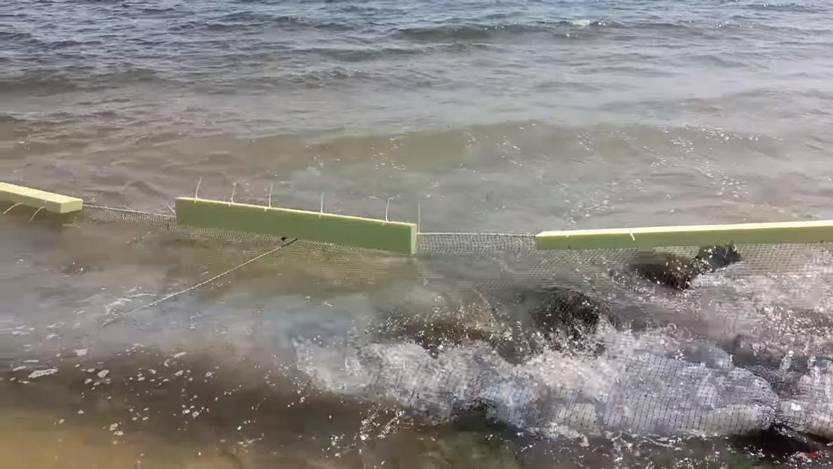 Бар'єрні сітки / скріншот з відео