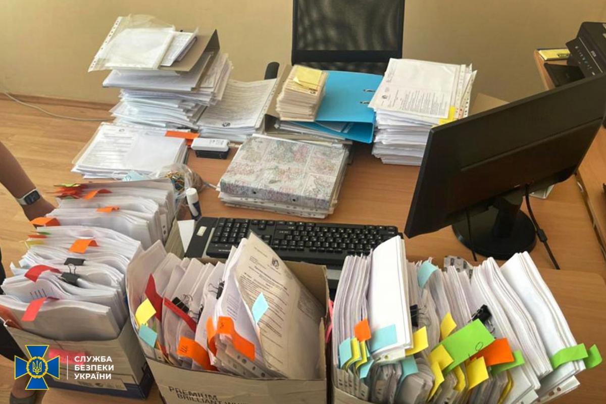 Доказательства преступной схемы были собраны и задокументированы / фото ssu.gov.ua