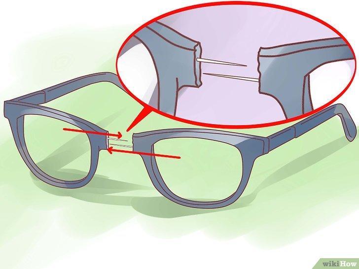 Як полагодити зламані окуляри / фото ru.wikihow.com