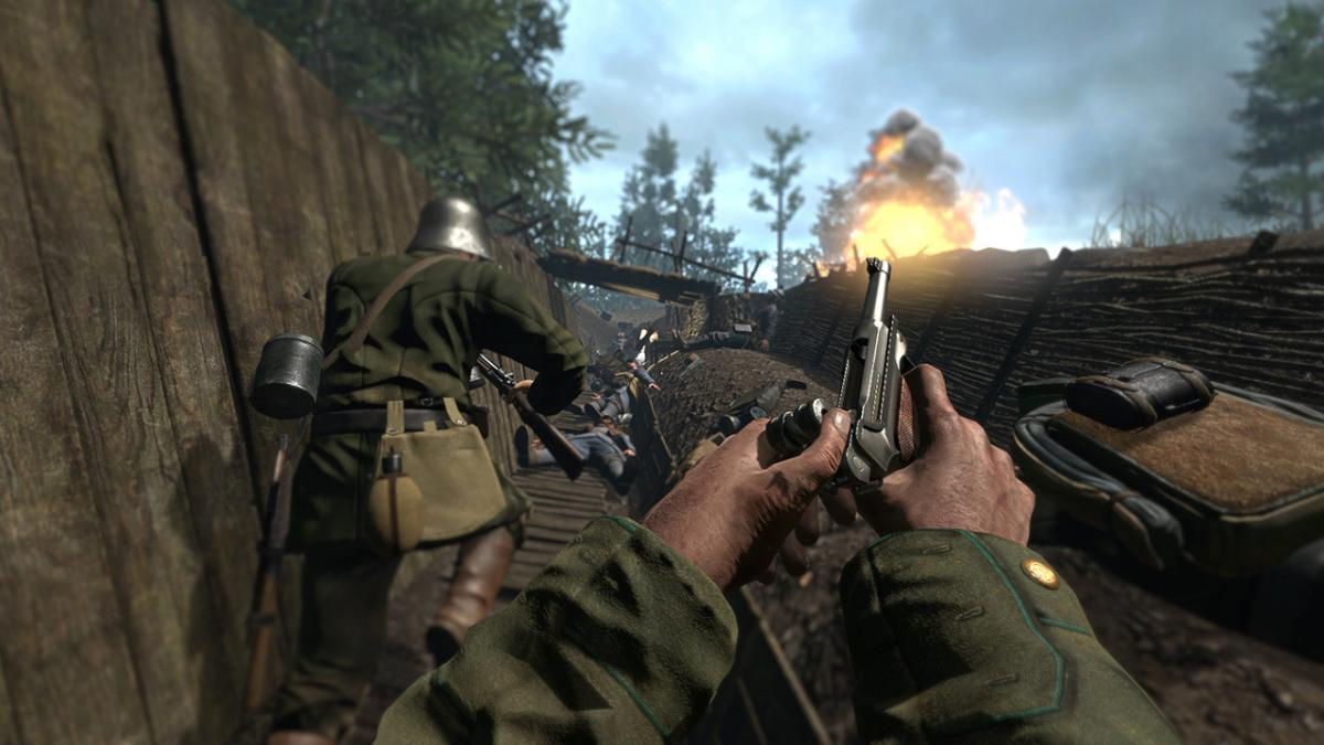 Кадр из игры Verdun /фото M2H